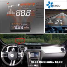 65.00$  Watch more here - http://ai854.worlditems.win/all/product.php?id=32792551821 - Car HUD Safe Drive Display For Ford Mustang GT / CS 2005~2014 - Refkecting Windshield Head Up Display Screen Projector