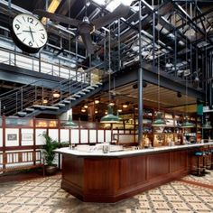 Dishoom restaurant brings Bombay dining to  a railway warehouse in London's King's Cross