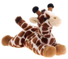 "Laydown Giraffe Plush Stuffed Animal 15"" $15.95"