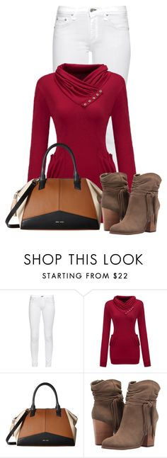 """Untitled #21617"" by nanette-253 ❤ liked on Polyvore featuring rag & bone, WithChic, Nine West and Jessica Simpson"