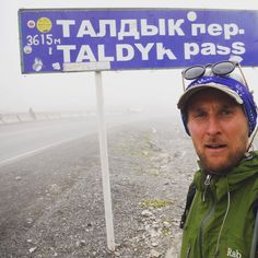 Up in the clouds on our way to Osh. This is the summit of the Taldyk Pass 3615m above sea level. What a beautiful climb. #adventure #travel #cycling #kyrgyzstan #twosnoodskindaday #tbt #throwbackthursday