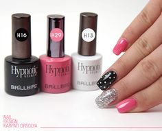 Unghii din Gel&Lac la nivel profesional cu gama Hypnotic - Unghii False - BrillBird Nail Designs, Nail Polish, Lipstick, Nails, Beauty, Finger Nails, Lipsticks, Ongles, Nail Desings