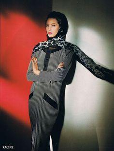 Christy Turlington for Yves Saint Laurent Vintage