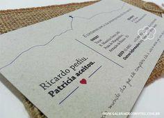 Convite casamento praia 53 - Galeria de Convites
