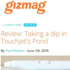 Check out Gizmags Touchjet review on their website www.gizmag.com