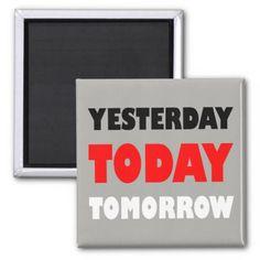 Original text design positive words phrase magnet - home decor design art diy cyo custom