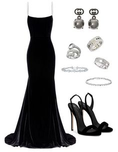 Black long dress party event outfit Source by SirenaSana dress outfits Lila Outfits, Black Dress Outfits, Classy Outfits, Chic Outfits, Work Outfits, Elegant Dresses, Beautiful Dresses, Pretty Dresses, Look Fashion