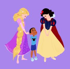 Dylan Bonner Disney World Snow White & Rapunzel Disney Films, Disney Cartoons, Disney Parks, Disney Pixar, Walt Disney, Disney Characters, Disney Princesses, Pocket Princesses, Disney Rapunzel