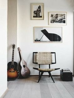 music room:  love that chair Alexandra Matos Design: aRTE nAS pAREDES #20