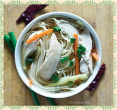 Dragon Soup - Chinese variation on chicken noodle
