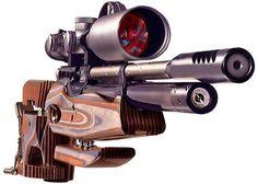 ¿Qué es un arma de aire comprimido PCP?