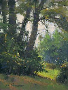 Misty Mississippi by Marc Hanson Pastel ~ 12 x 9