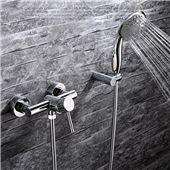 Glass Waterfall Tub Faucet Contemporary Wall Mount Bathtub Tap Brass Faucet, Faucet Handles, Contemporary Bathtubs, Wall Mount Tub Faucet, Glass Waterfall, Bathroom Shower Faucets, Plating Techniques, Shower Valve, Made To Measure Curtains