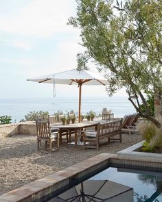 M. Elle Design (@m.elle.design) • Instagram photos and videos Water Element, Outdoor Furniture Sets, Outdoor Decor, Memorial Day, Beautiful Homes, House Beautiful, Outdoor Living, Pergola, Outdoor Structures