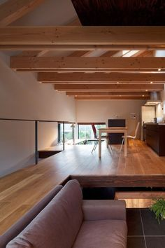 sunken or elevated seating area