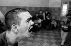 """A Procession of Them"" - Kosovo Mental Institution - Eugene Richards"
