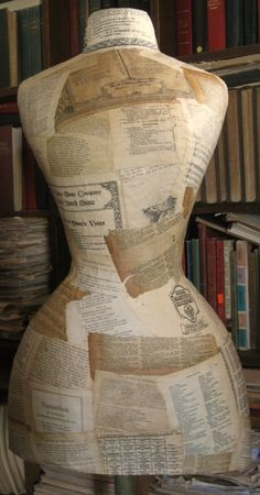how to make a paper mache mannequin | Things to make ...