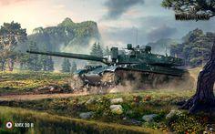 World of Tanks theme background images, 1225 kB - Addison Murphy Tank Wallpaper, 2015 Wallpaper, Wallpaper Free, January Wallpaper, Desktop Wallpapers, World Of Tanks Game, Amx 30, Tank Armor, Apocalypse
