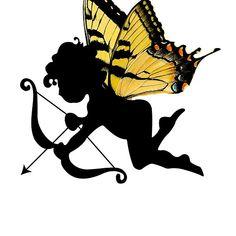 Cupido #Cupid #Butterfly #Arrow #Valentine'sDay #T-Shirt #Valentine #LeytonKit #love