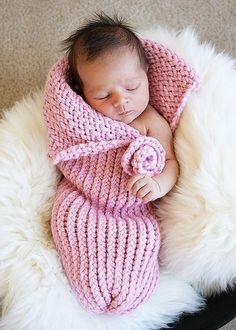 Seriously, aren't these baby cocoons  the cutest things? They look so soft and cozy - kind of like a juvenile version of the Snuggie (I ...