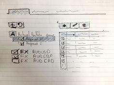 Folios #wireframe, Sketch, #UI