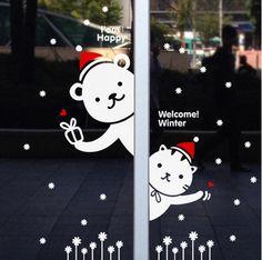 Christmas window sticker