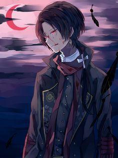 Kashuu, you look like a vampire.