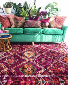 Thursday = SERIOUS vintage boujaad rug porn in the studio   NOT even kidding.   You're welcome   www.thewishingtrees.com