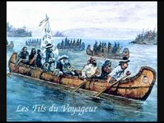 Bien Travailler: Sixteen chansons of the voyageurs, plus the Canadian National Anthem. Sung a capella in 3 and 4 part harmony by Les fils du voyageur, The Sons of the Voyageur. French Teaching Resources, English Resources, Teaching French, Teaching Social Studies, Teaching Art, Teaching Ideas, Ontario Curriculum, Fur Trade, France 2