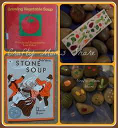 Crafty Moms Share: Virtual Book Club for Kids--Lois Ehlert Growing Vegetable Soup activities