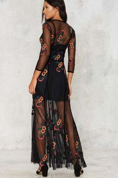 For Love & Lemons Elenora Embroidered Maxi Dress - Sale: 30% Off | Dresses