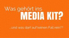 Media Kit: Der beste Weg zu professionellen Kooperationen als Blogger