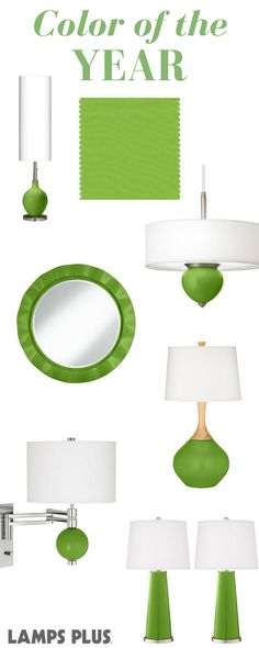 The Pantone Color of the Year 2017 has arrived! Greenery is a fresh and zesty yellow-green shade that evokes the first days of spring when nature's greens revive, restore and renew.