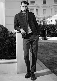 Adrien Sahores for De Fursac Fall Winter 2014.15