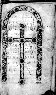Late 8th-century manuscript at the Bavarian State Library in Munich, Germany.