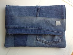 vegan laptop case vegan 13.3 laptop bag denim bag by LIGONbyRuthi, $57.00