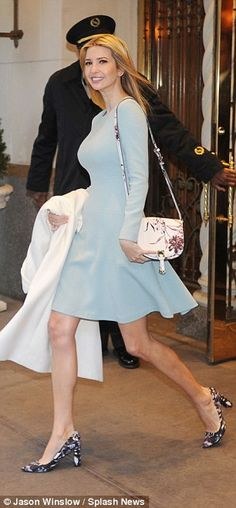 CNN reported today that Ivanka Trump, seen heading to work this morning in Manhattan, woul...