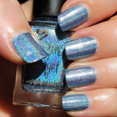 Too Fancy Lacquer Halo On Top (The Holo Grail Box by Dazzled - November 2014 - Pop Culture)