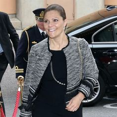 Crown Princess Victoria at the Sustainability Day. 13-10-2015