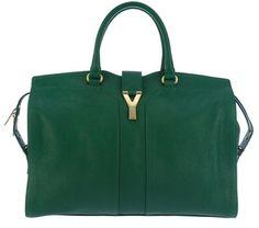 YSL Cabas Chyc (Pantone 2013: Emerald)