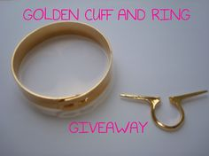 fashion for life: Golden Accessories GIVEAWAY