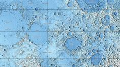 Descarga los mapas topográficos más detallados que existen de la Luna