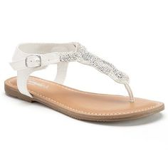 Candie's® Women's Beaded Thong Sandals