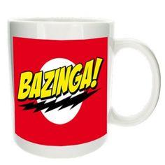 Bazinga!! Funny mug