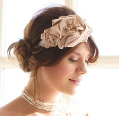 Old Hollywood Style  Get this pretty hairstyle by styling a low bun or chignon on the lower side of your head and add an elegant headband.