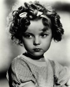 Shirley Temple - so cute when she was little