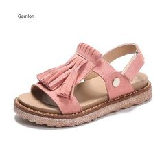 7a7c6ac07b518 Gamlon Girls  Sandals 2017 New Children Roman Shoe Korean Summer Girl  Princess Shoes Big Boy
