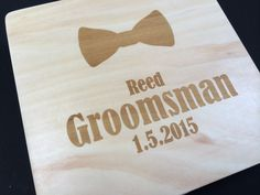 (http://www.withluvdesign.com/bowtie-will-you-be-my-groomsman-invitation-and-keepsake-box/)