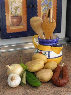 En la Cocina de Amama: Patatas a la Riojana