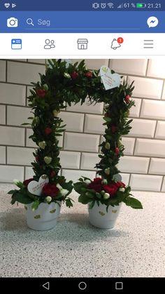Fester, Origami, Christmas Wreaths, Planters, Mini, Holiday Decor, Creative, Wedding, Inspiration